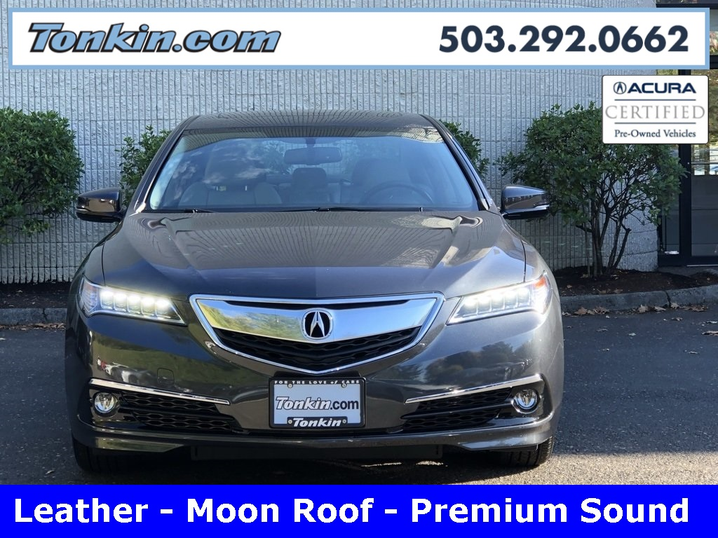 Pre-Owned 2016 Acura TLX 3.5L V6