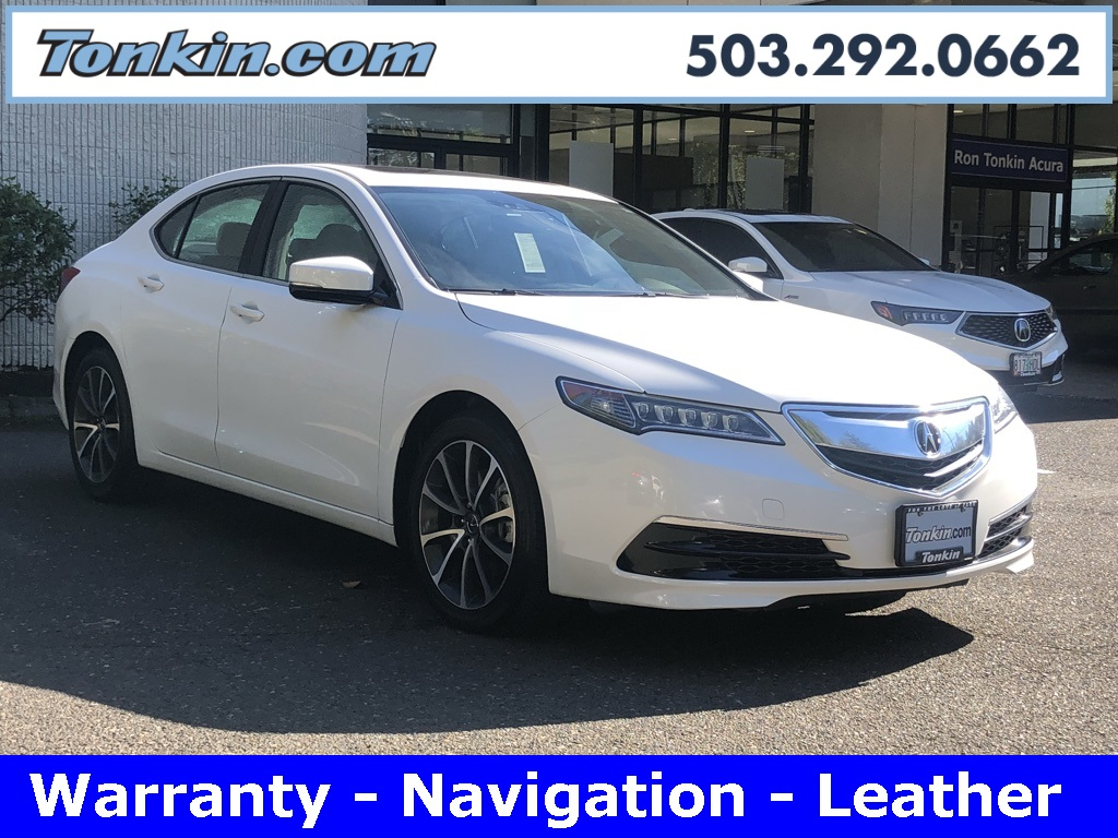 PreOwned Acura TLX L V D Sedan In Portland PA Ron - Pre own acura
