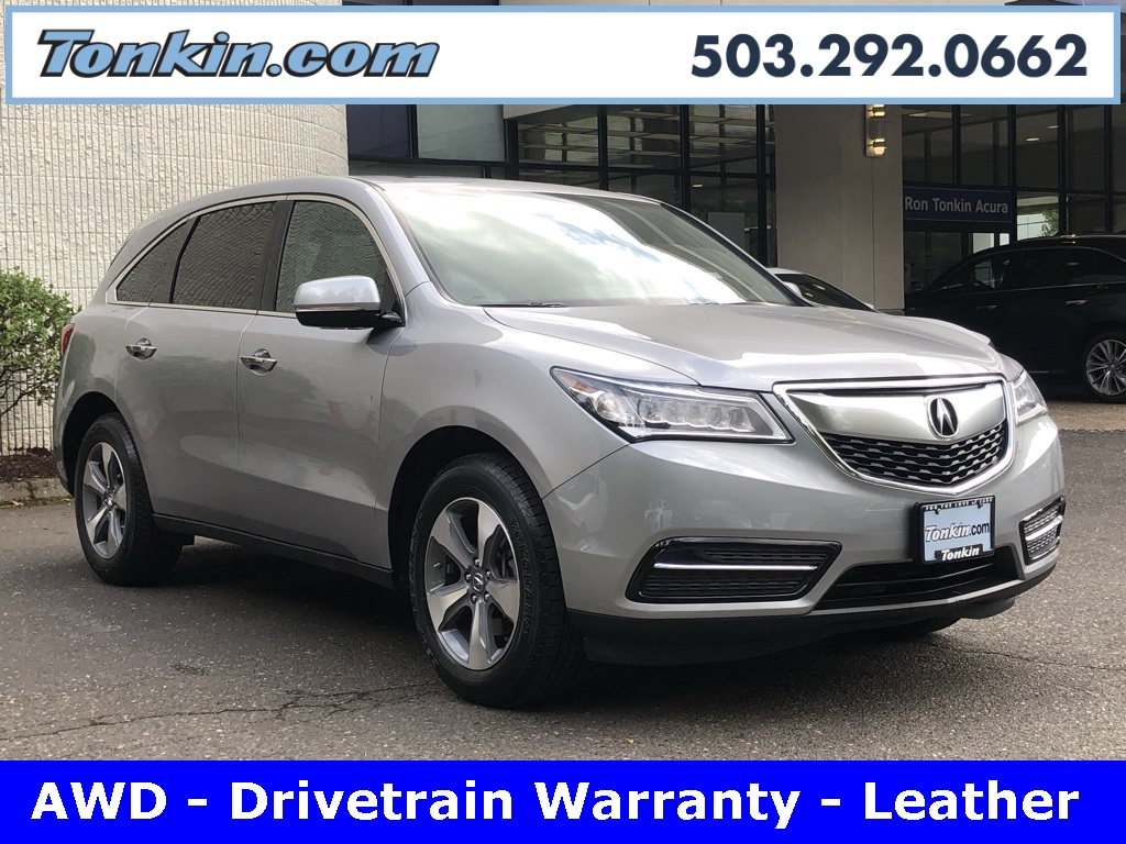 PreOwned Acura MDX L D Sport Utility In Portland PA - Acura mdx pre owned