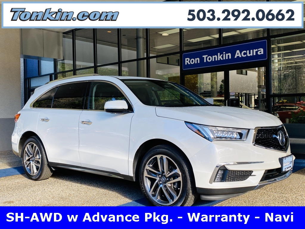Pre-Owned 2017 Acura MDX 3.5L SH-AWD Advance Package