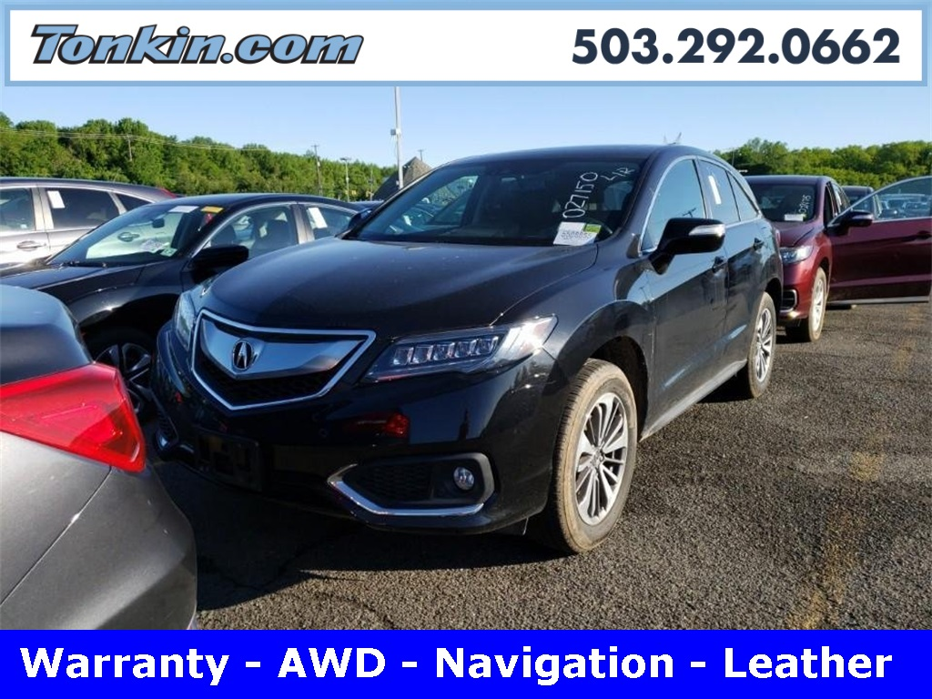 Pre-Owned 2016 Acura RDX Advance