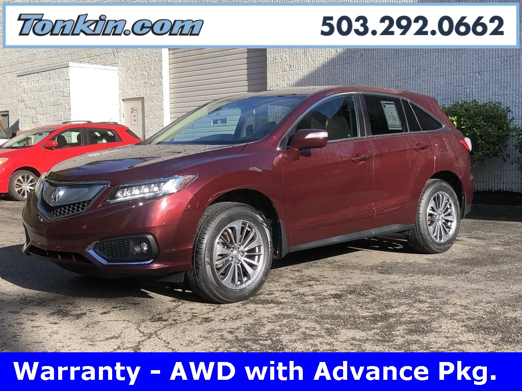 Pre Owned 2016 Acura Rdx Awd W Advance Package 4d Sport Utility In Portland Pa16595 Ron Tonkin
