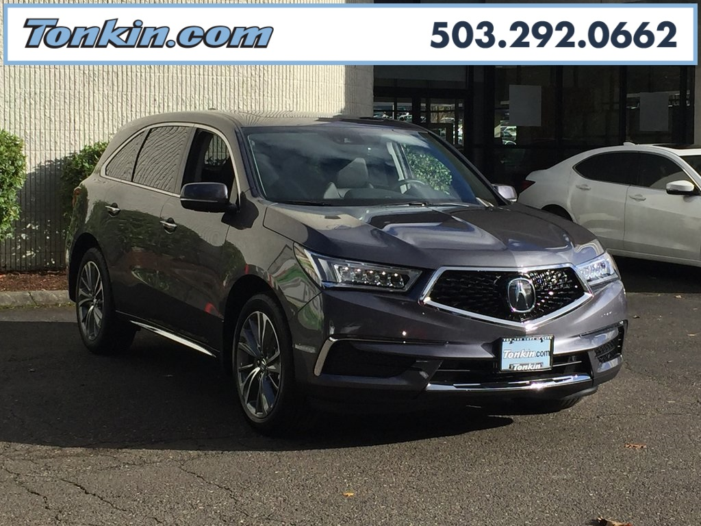 New Acura MDX SHAWD With Technology Package D Sport Utility - 2018 acura mdx hitch