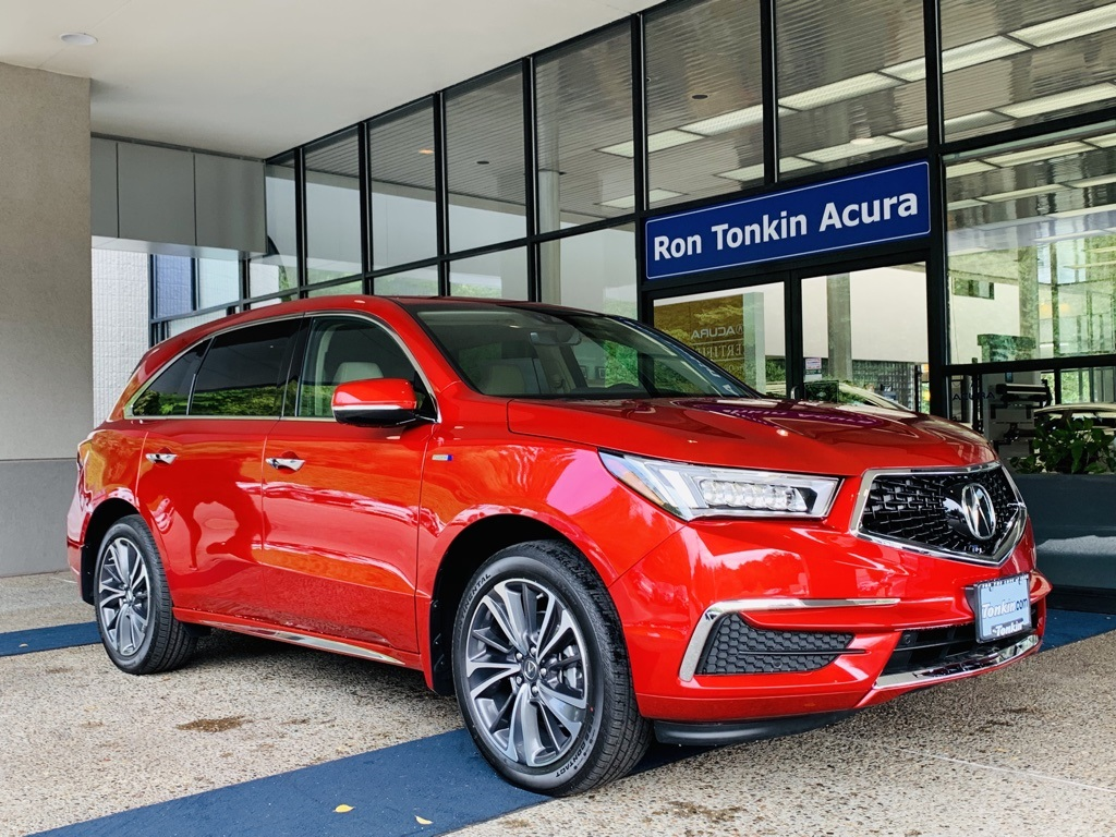 New 2020 Acura Mdx Sport Hybrid Sh Awd With Technology Package