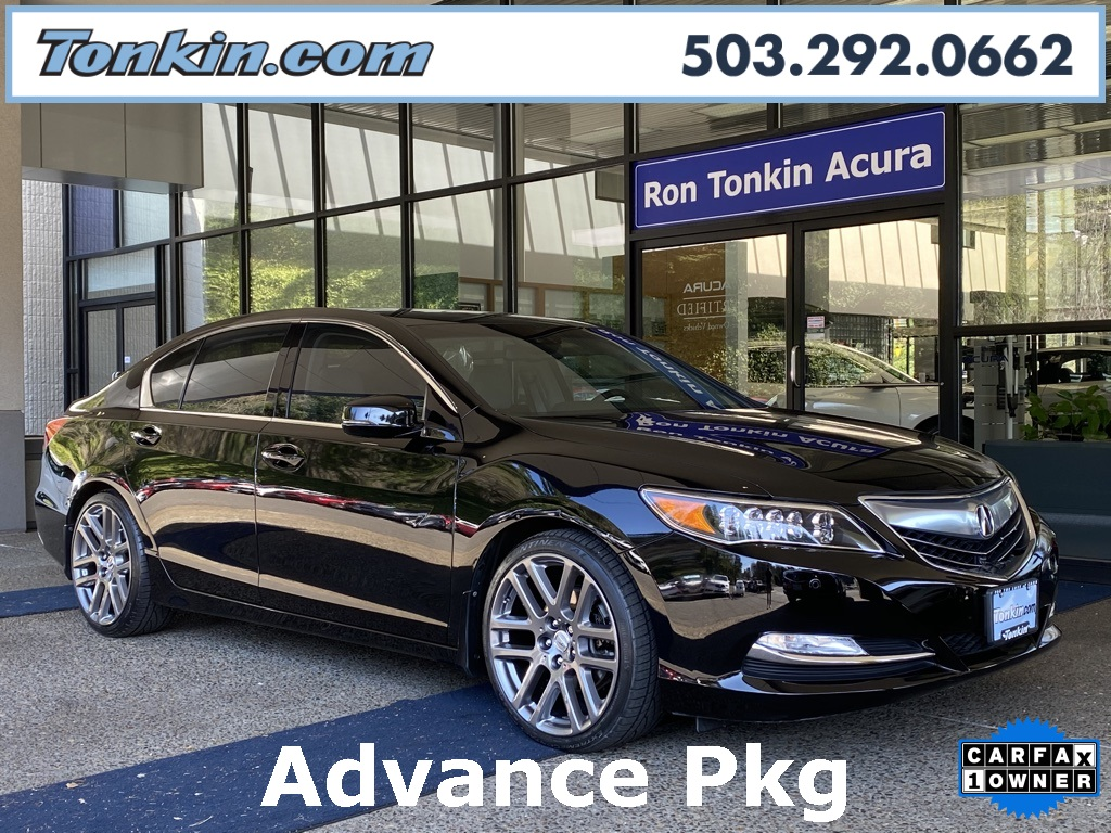 Pre-Owned 2016 Acura RLX Advance