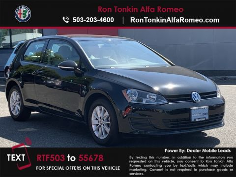 Pre-Owned 2016 Volkswagen Golf TSI S 2 Door