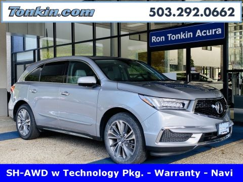 Pre-Owned 2017 Acura MDX Tech Pkg