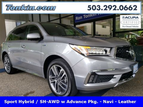 Certified Pre-Owned 2019 Acura MDX Sport Hybrid Sport Hybrid SH-AWD with Advance Package